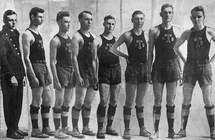 The 1914 Thorntown High School basketball team will be honored Dec. 5. (Submitted photo)