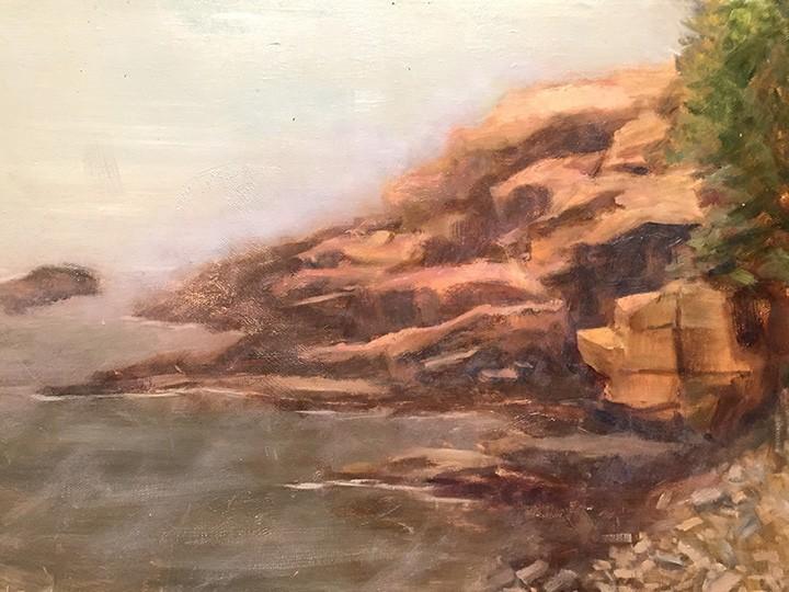 A painting by Hewook Lee.