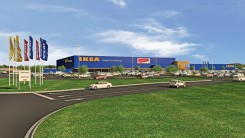 rendering of the Ikea facility. The facility is expected to break ground in fall 2016. (Submitted renderings)