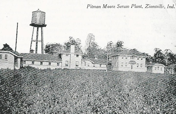 The Pitman-Moore Company was on land now occupied by Dow AgroSciences. (Photo courtesy of SullivanMunce Museum)