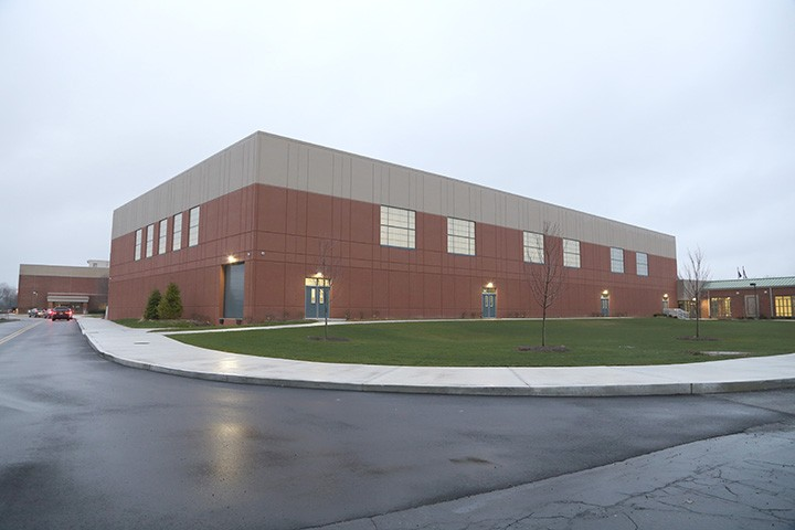 The ZCHS expansion is almost complete. (Photo by Ann Marie Shambaugh)