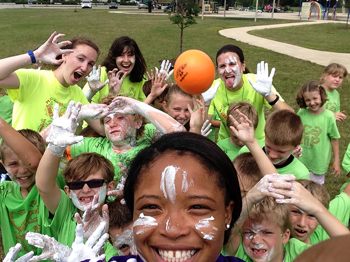 Area youth enjoy a Fishers Parks & Recreation summer camp from last summer. Registration for this year's camps opens March 1. (Submitted photo)