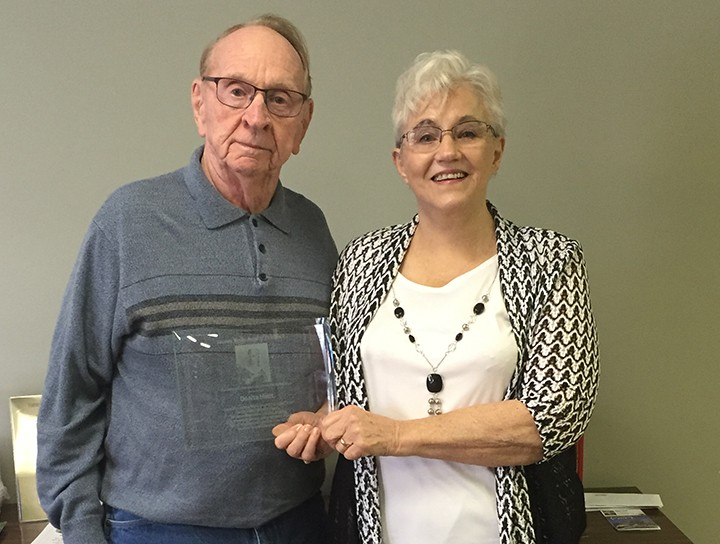 John and Donita Hiatt celebrate her nomination of The Susanna Wesley Award of Excellence. (Photo by Anna Skinner)