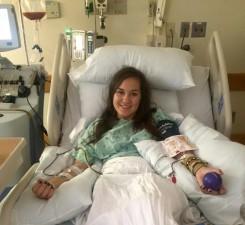 Alayna Troha, a 2014 WHS grad, donated bone marrow. (Submitted photo)