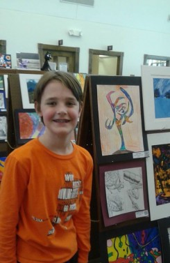 John Zack, an Eagle Elementary student, has participated