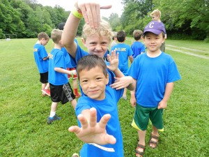 Young boys at Camp Belzer enjoy summer camp activities. (Submitted photos)