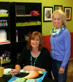 Sylvia Runningen, left, and Barb Hegeman will be offering summer classes and camps through Myart. (Submitted photo)