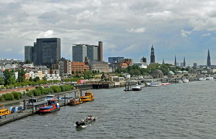 Port of Hamburg, Germany (Photo by Don Knebel)