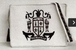The Zionsville flag helped symbolize transformation. (Photo courtesy of SullivanMunce Cultural Center)