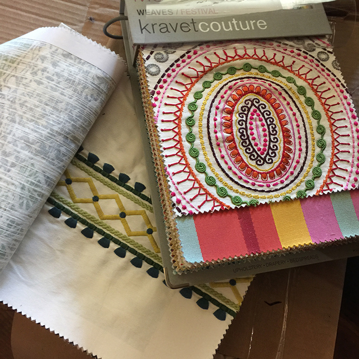 New fabrics for spring are arriving daily and there are fabrics that bear names such as Fresh Butter, Poppy, Confetti and Diva Blue. (Submitted photo)