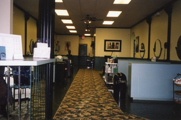 An inside shot of the salon years ago. (Submitted photo)
