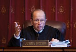 Justice Brent Dickson of Carmel has served on the Indiana Supreme Court since 1986. (Submitted photo)