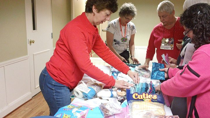 The Mudsock Quilters Guild's annual tag sale returns to the Fishers United Methodist Church Fellowship Hall May 14.