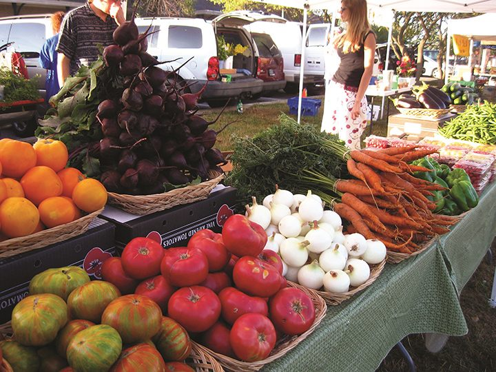 The Fishers Farmers Market, this year ran by the city's Parks and Recreation Dept., returns to the Nickel Plate District Amphitheater May 7.