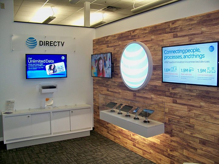 The new AT&T engagement center inside Launch Fishers debuted earlier this month. (Photos by Sam Elliott)
