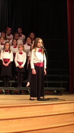 Anastasia Rupp has been singing with Indianapolis Children's Choir for more than a year. (Submitted photo)