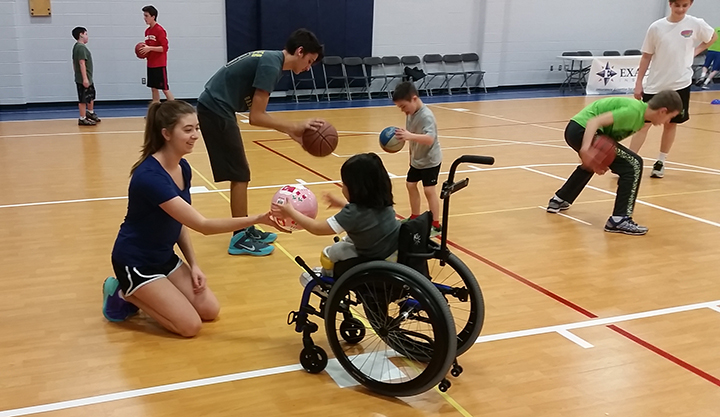 The JMFitness basketball program is one of many services offered by the Joseph Maley Foundation. (Submitted photo)