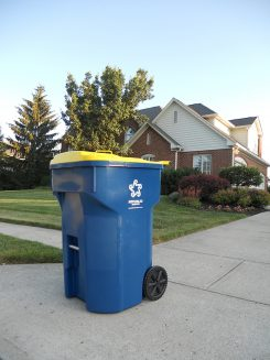 Carmel is considering increasing recycling pickup from biweekly to once a week. (Submitted photo)