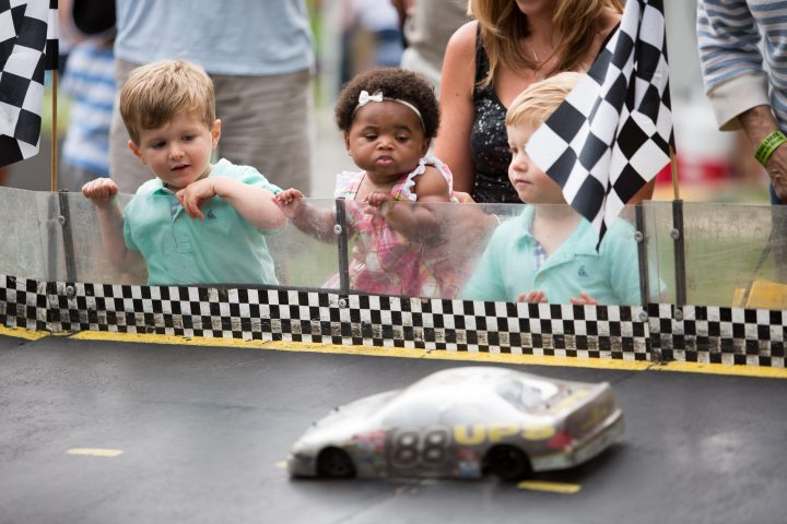 Children enjoy the festivities at CarmelFest. (Submitted photo)