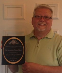 Jerry Roberts received the Outstanding Carmel Rotarian Award earlier this month. (Submitted photo)