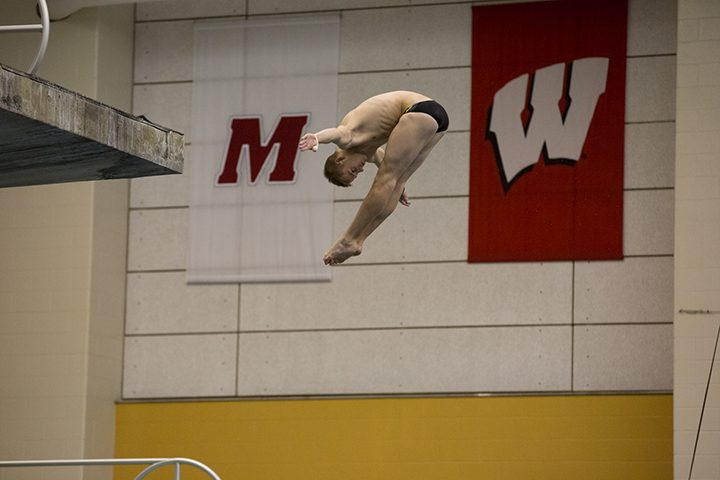 Steele Johnson competes for Purdue University. (Submitted photo)