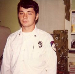 Doug Callahan in 1975, two years after joining CFD. (Submitted photo)