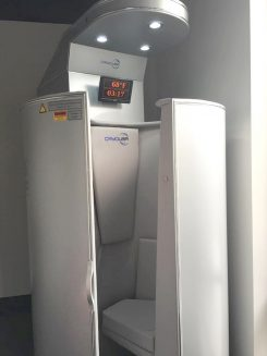 The cryogenic spa involves a process where someone enters a chamber that is filled with liquid nitrogen gas that is as cold as negative 240 degrees. (Submitted photo)