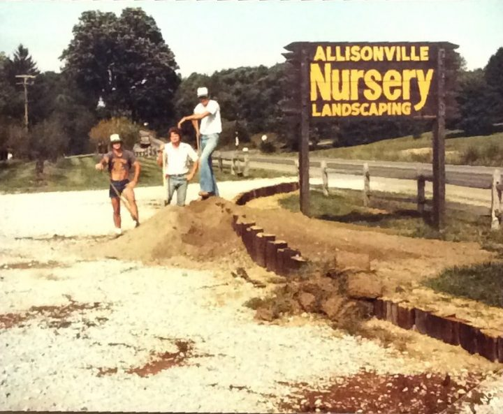 Jeff Gatewood founded Allisonville Nursery in Fishers in 1976, when the town's population was less than 3,000 residents. (Submitted photo)