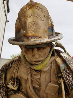 A close-up view of the detail of the statue before its final bronze cast. (Submitted photo)