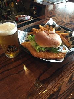 Enjoy a local, traditional tenderloin at Grand Junction Brewing Co. in Westfield.