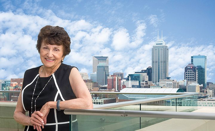 Yvonne Shaheen is one of five people to be named a 2016 Indiana Living Legend. (Submitted photo)