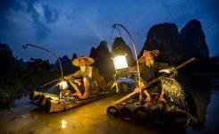 Cormorant fishermen of the Li River.