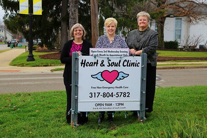Anne Willet, Heather Brownell and Dr. Barbara Heiner are a part of the Heart and Soul Free Clinic. (Photo by Feel Good Now)