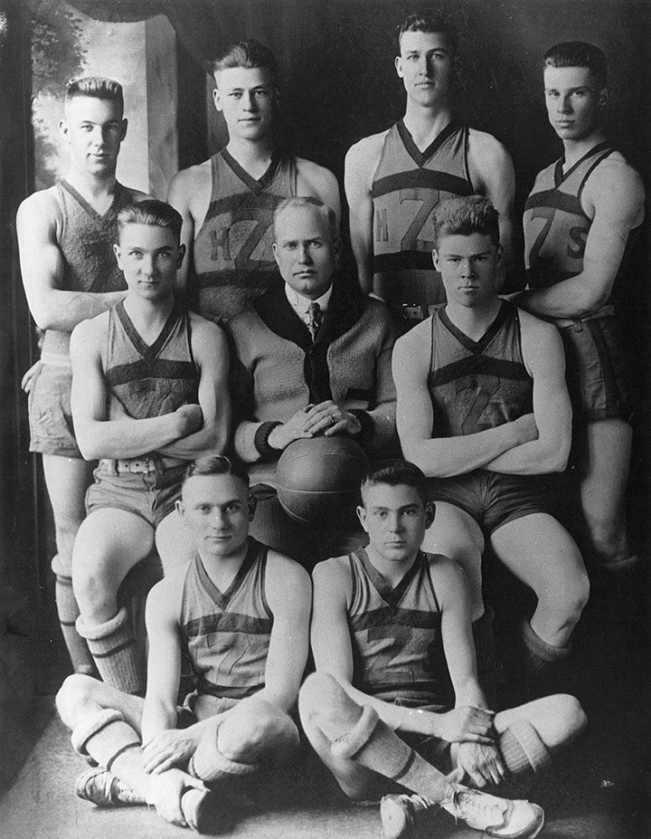The 1919 Zionsville basketball team pulled off what is considered by some to be the biggest upset in school history, a 14-13 win against Lebanon in the sectional matchup.