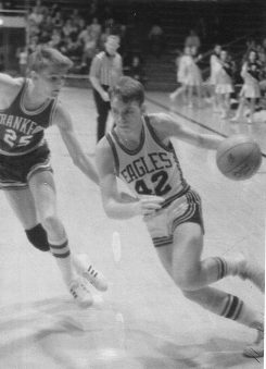 Mick Pyle, a 1972 graduate, is fourth on the school's all-time scoring list. (Submitted photo courtesy of the SullivanMunce Cultural Center)
