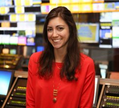 Adriana Pratt grew up in Carmel and is producer and writer for Good Morning America. (Photo by ABC/Fred Lee)