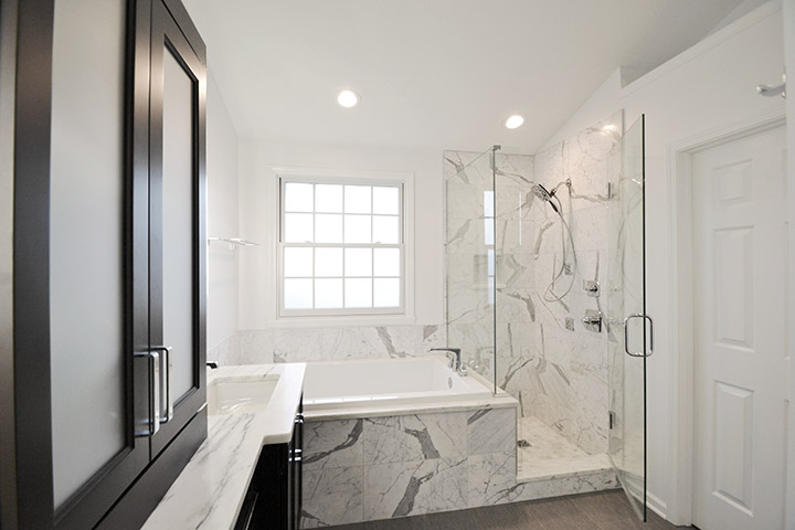 For a master bathroom remodel, we recommend budgeting 7 percent to 12 percent of your home's value. (Submitted photo)