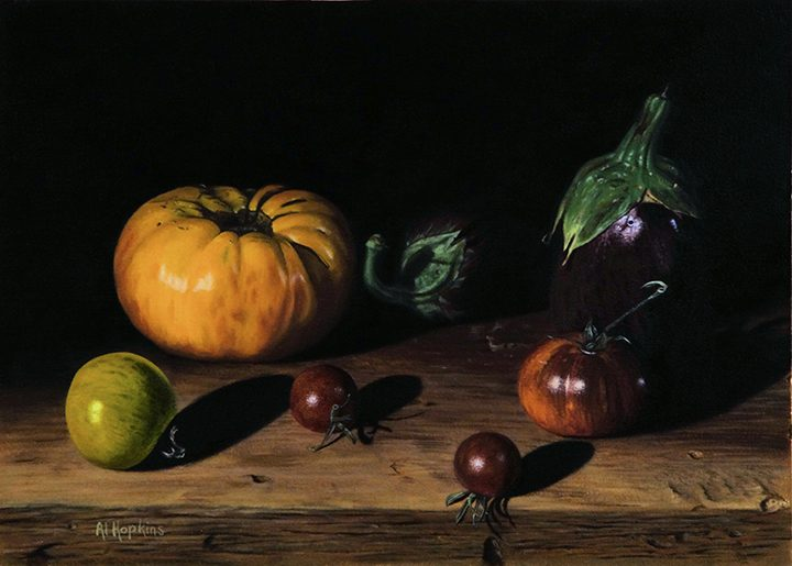 One of Al Hopkins' still life paintings. (Submitted photo)
