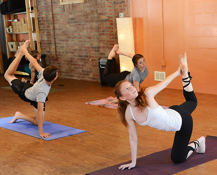 Young Yogi Creekside Student Works To Inspire Others Through Yoga Current Publishing