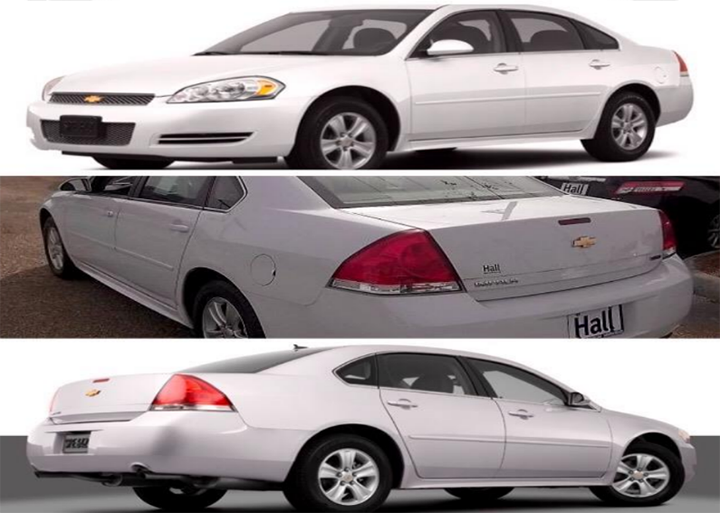 Police believe the murder suspect fled in a late model Chevrolet Impala, like this one. Anyone with information is asked to contact ZPD.(Submitted photo)