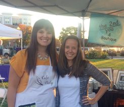 From left, Cafe Baby co-owner JeannieMarrugoand The 2ndYou'sRachelTabler, who will host the Mommy and Me event. (Submitted photo)