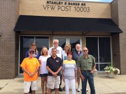 VFW members and supporters Garry King, Quartermaster Roman Chang, Diana Curts, Dennis Curts, Greta Ross-Hill, Wanda Kijak, Bill Loveall, Canteen Manager Karen Shatley, and Dick Tucker. (Submitted photo)