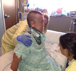 Rebecca Overman recovers from a traumatic brain injury suffered in 2013. (Submitted photo)