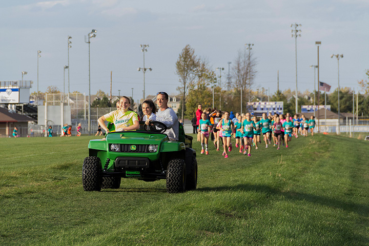The Liger XC mile will take place Oct. 13. (Submitted photo)