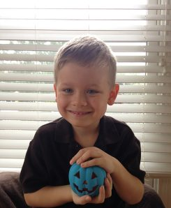 Dianne Collis' son, Liam, has a food allergy and inspired Collis to take part in the Teal Pumpkin Project. (Submitted photo)