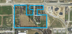 The location of the proposed development.
