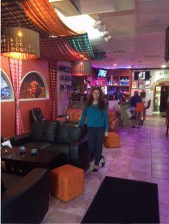 Owner Sirine Khelifi in Casablanca Lounge & Hooka Bar. (Submitted photo)