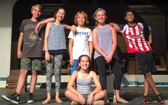 Maddux Morrison, Anjali Rooney, Aiden Shurr, Lauren Csiadone (seated), Mary Kate Tanselle and Luca Arive. (Submitted photo)