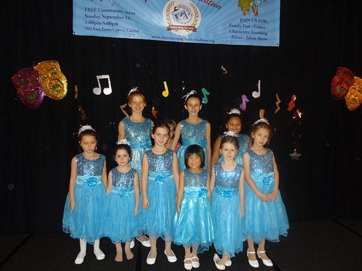 Front row, from left: Julia Herstein, Savannah Reymer, Kaitlyn Nagy, Prudence Peng, Liza Folkin, Maria Gejdos. Back row, from left: Sophia Gilliam, Heiley Erickson, Katerina Folkin, Mattea ugoletti. (Submitted photo)