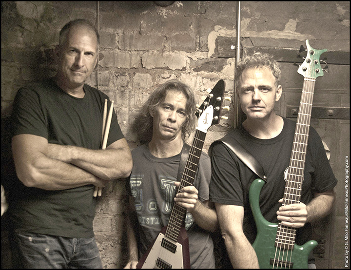 From left, Dan Martier, Tim Reynolds and Mick Vaughn will perform Oct. 21 at The Warehouse. (Submitted photo)